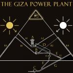 pianta piramide di giza