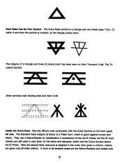 symbols blue