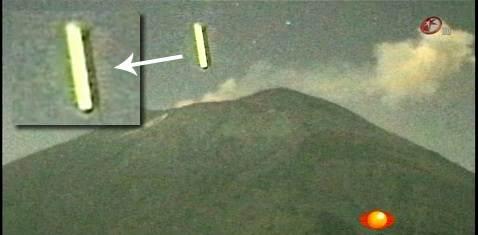ufo sigaro vulcano