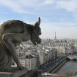 Parigi vista dalla cattedrale Notre-Dame