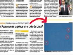 peru ufo news