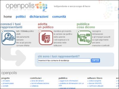Openpolis per controllare meglio le mosse politiche del for Numero di parlamentari
