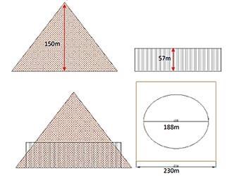 secondo confronto piramide cheope colosseo