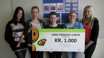 Le giovani ragazze della Hjallerup School